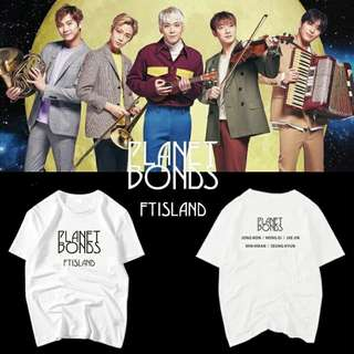 FT ISLAND PLANET BONDS SHIRT