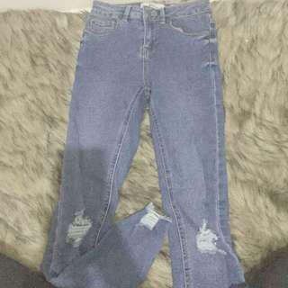 new look ripped jeans
