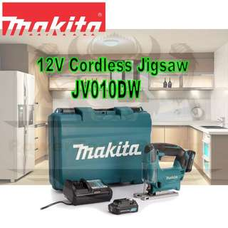 [NEW] MAKITA 12V CORDLESS JIGSAW JV101DSAE FULL SET