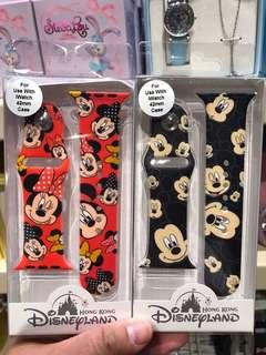 PO HK Disneyland iWatch strap 42mm mickey and Minnie design