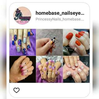 Gel nails _ -> Follow Instagram