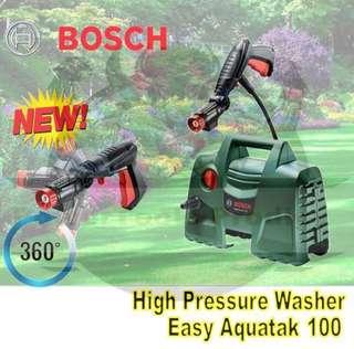 [NEW] BOSCH EASY AQUATAK100 HIGH PRESSURE CLEANER / WASHER ( 100 BAR )