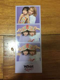 TWICE: What Is Love Sticker - Momo and Jeongyeon