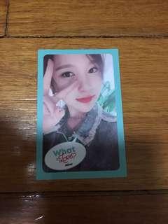 TWICE: What Is Love Photocard - Mina