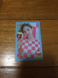 TWICE: What Is Love Photocard - Nayeon
