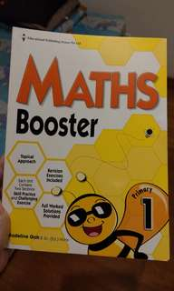 Primary 1 Maths Booster