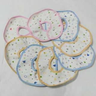 Baby Bibs 8pcs for rm20