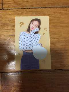 TWICE: What Is Love Scratch Card - Mina