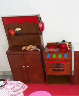Wooden cooking