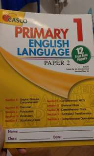Casco primary 1 english language