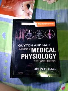 Guyton and Hall Medical Physiology 13th Edition