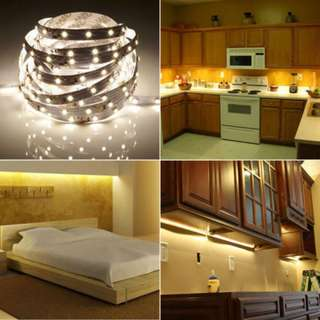WARM WHITE Color 5 Meter 3528 300 LED Strip Lights Flexible Roll 5M