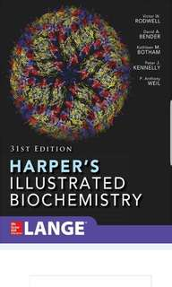 Harpers Illustrated Biochem 31st ed (latest ed)  PDF copy