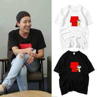 JHOPE SNOOPY SHIRT