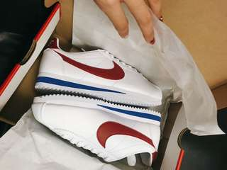 Nike Classic Cortez Leather 皮革 紅藍白 阿甘 807471-103