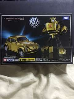 MP-21G Bumble Transformers G2 Gold