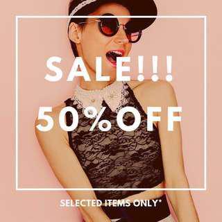 BES! Sale 50% Discount