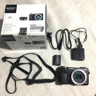 Sony Nex-6 body (Mirrorless) PAUNAHAN NALANG