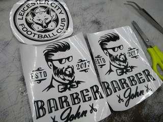 Sticker decal Custom DIY