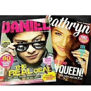 Kathniel Fan Magazines by Summit Media