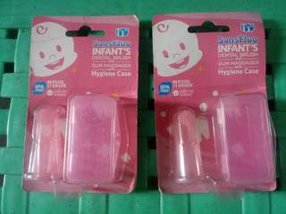 Infant dental brush