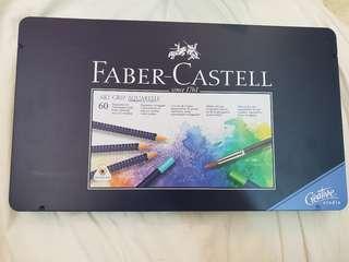 🚚 德國Faber-Castell創意工坊水性色鉛筆 60色