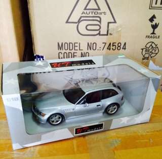1/18 BMW M Coupe. UT Models.