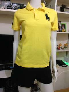 Original Polo RL yellow polo shirt