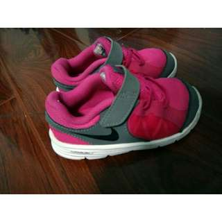 Authentic Nike Kids Rubber Shoes Sneakers Toddler Girl Pink