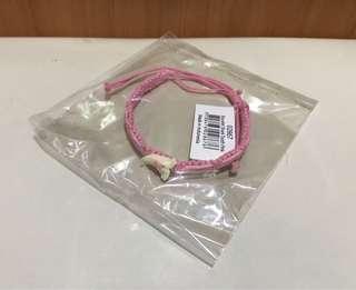 ✅🉑交換✅鯊魚牙手繩(粉紅色)🦈✨全新✨