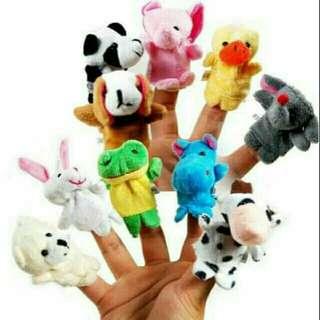 10 pcs. Finger puppet
