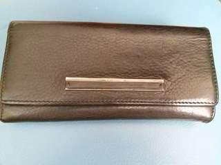 Calvin Klein Wallet 銀包 錢包 CK 小牛皮