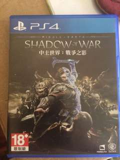 [PS4 game] Shadow of War
