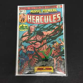 Marvel Premiere 26 Comics Book Stan Lee Movie Avengers Hercules