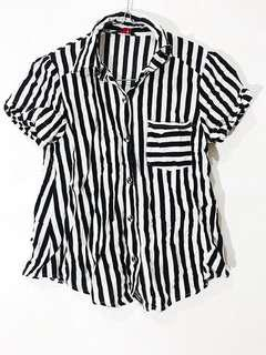 Stripes shirt - kemeja garis garis