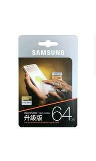 三星samsung 64GB EVO MicroSDXC UHS-I Class 10 記憶卡