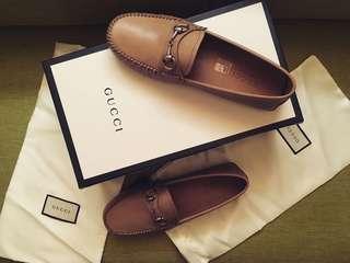 Gucci 袋鼠皮開車鞋