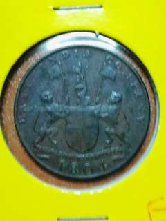 Singapore /Java east India company copper coin in EF grade scarce