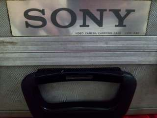 Sony aluminum hard case