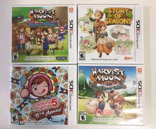 Nintendo 3DS Harvest Moon