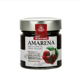 🚚 克羅埃西亞Maraska黑櫻桃果醬 džem amarena 250g