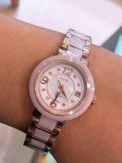 TITUS 鐵達時陶瓷手錶