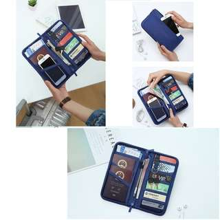Passport Bag Tas Passport Travel  Wallet Card ATM Dompet Water Proof