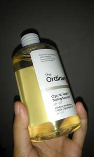 The Ordinary Glycolic Acid 7% Toning Solution [Preloved]