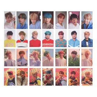 BTS Love Yourself: Her (DNA) Unofficial / Duplicate / Replica Photocards / Photocard / Pc