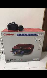 Canon MG 7770 Red (New)