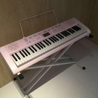 Casio Pink Keyboard LK127