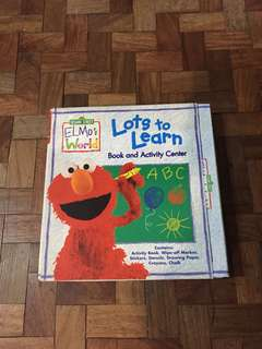 Elmo's World Activity Book