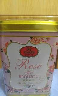 泰國原裝正貨直送手標玫瑰花茶