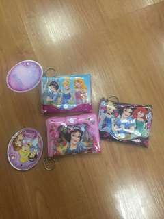 Disney Princess Wallet Bundle